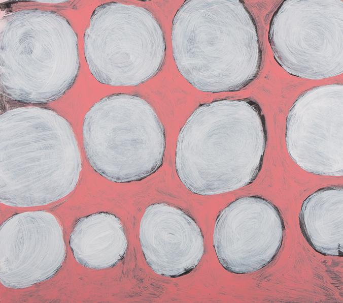 Bild, o.T., 1998, 70x95 cm, Acryl auf Karton