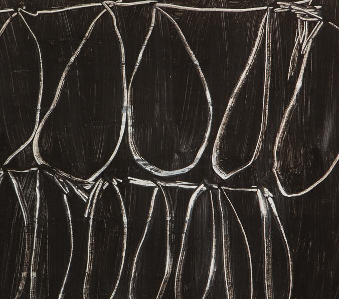 Bild, o.T., 2017, 32x44 cm, Acryl auf Papier