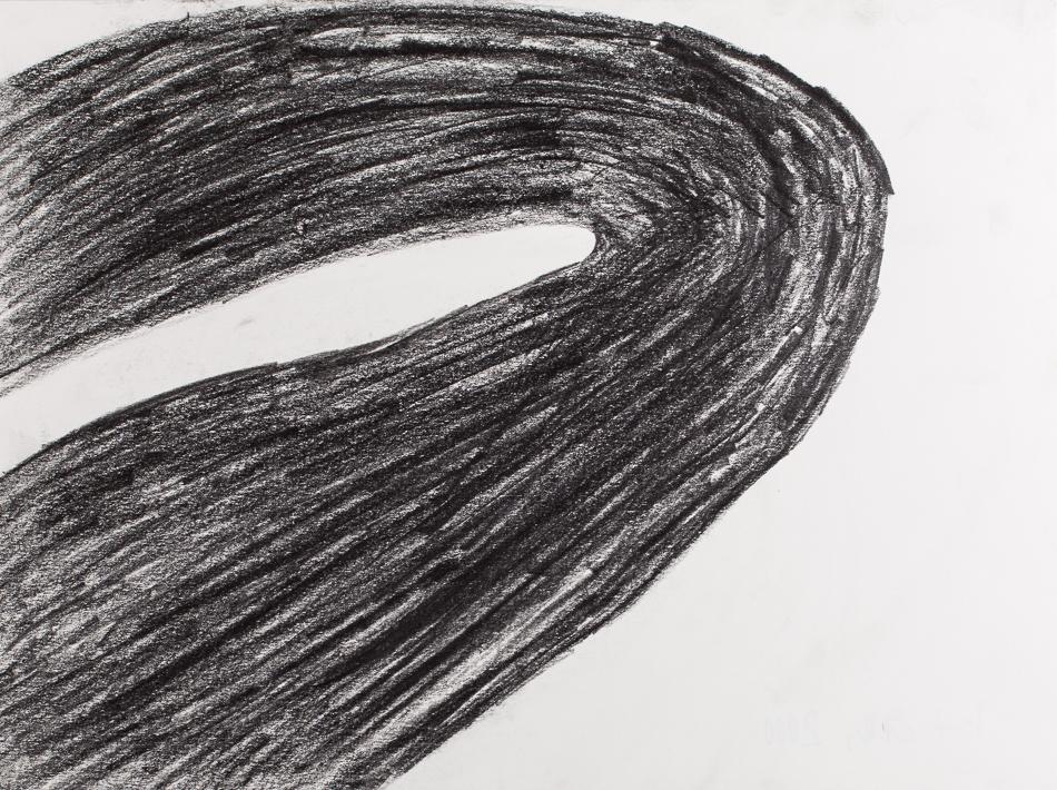 Zeichnung, o.T., 2000, 30x40 cm, Bleistift auf Papier