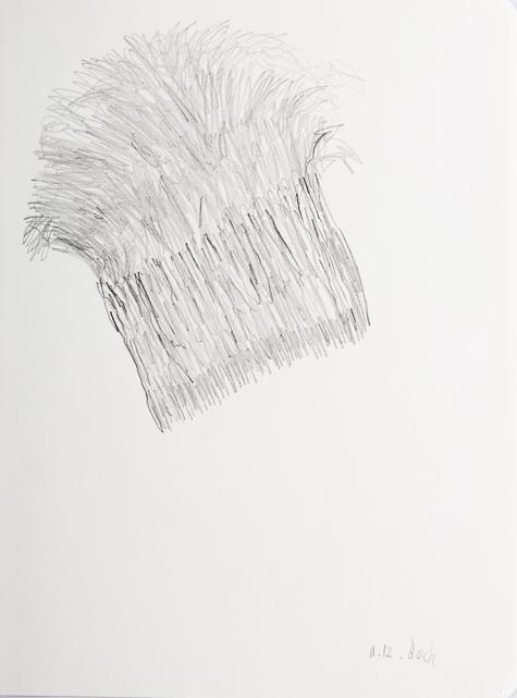 Zeichnung, o.T., 2016, 24x18 cm, Bleistift auf Papier