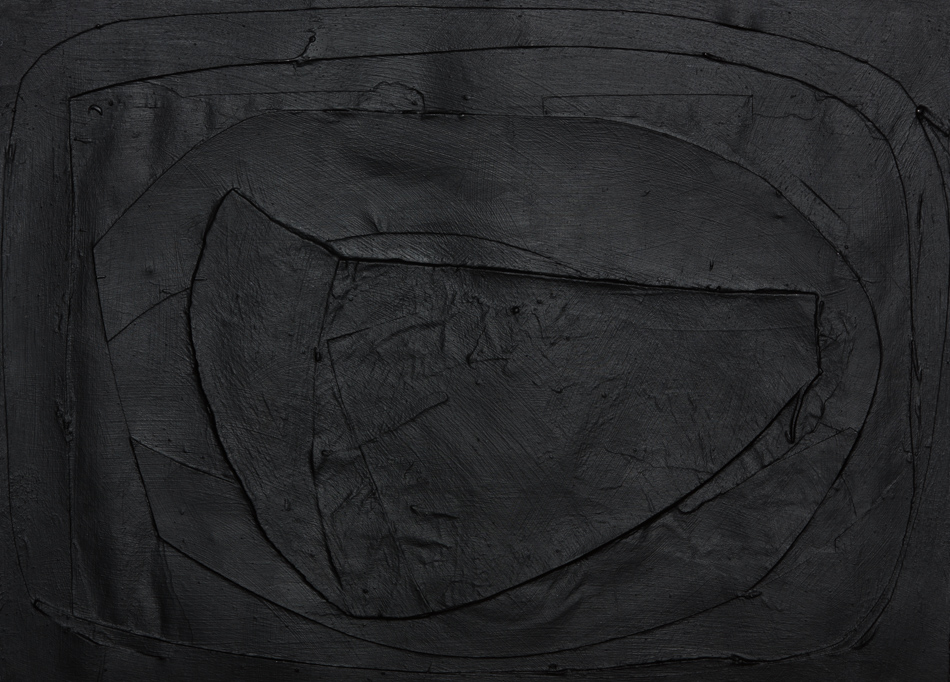 Bild, o.T., 2018, 38x45 cm, Acryl auf Papier