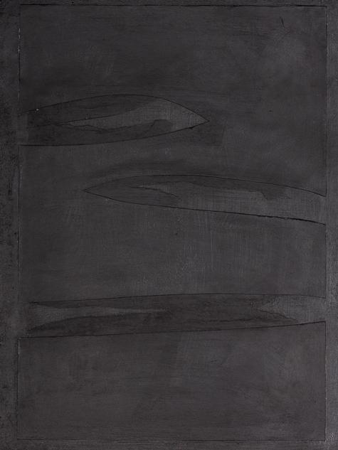 Bild, o.T., 2019, 48x36 cm, Acryl auf Papier