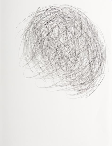 Zeichnung, o.T., 2020, 24x18 cm, Bleistift auf Papier