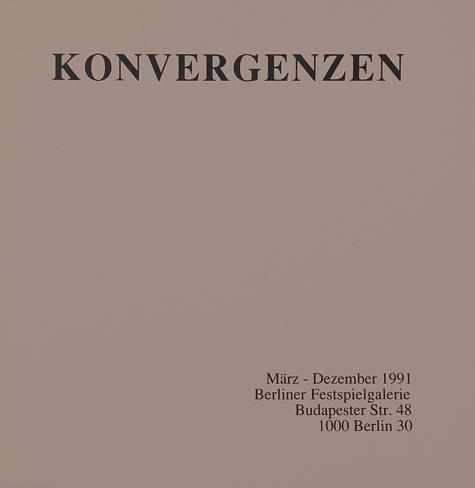 """Publikation """"Konvergenzen"""""""