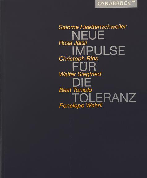 """Publikation """"Neue Impulse für Toleranz"""""""
