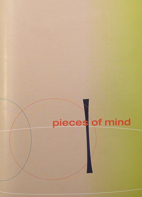 """Publikation """"Pieces of Mind"""""""